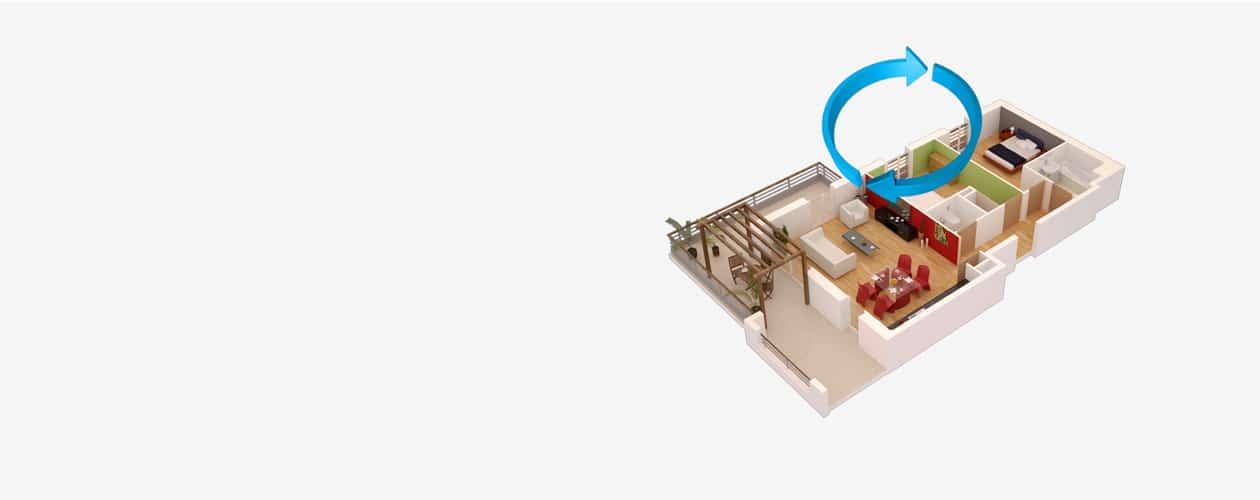 Visualisez vos Plans de vente en 3D Interactive